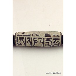 Pendentif OM MANI PEDME HUM Bijoux tibetains bouddhistes  ALOP9