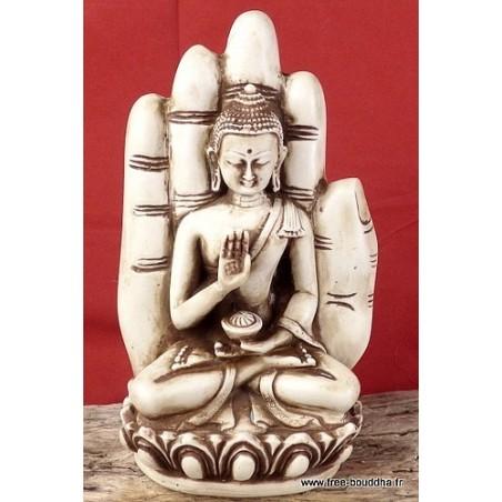 Statuette Bouddha posé sur main