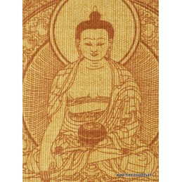 Tenture tibétaine BOUDDHA SAKYAMOUNI Tentures tibétaines Bouddha TENBS