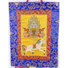 Tenture tibétaine LUNGTA CHEVAL DE VENT LUNGTA1