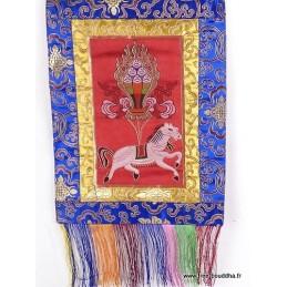 Tenture tibétaine bouddhiste Lungta LUNGTA2
