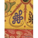 Tenture murale bouddhiste SIGNES AUSPICIEUX TENSAU3