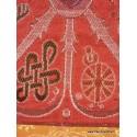 Tenture murale bouddhiste SIGNES AUSPICIEUX TENSAU1
