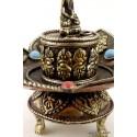 Brûleur d'encens tibétain SIGNES AUSPICIEUX