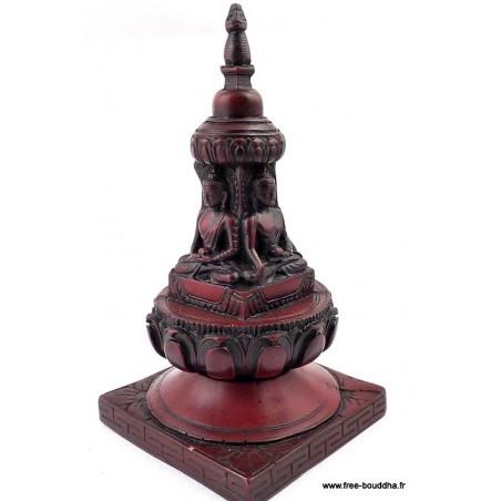 STUPA bouddhiste en résine
