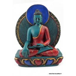 Statuette bouddhiste BOUDDHA DE MEDECINE BOUMED1