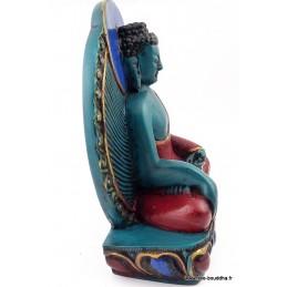 Statuette bouddhiste Bouddha de Médecine Objets rituels bouddhistes BOUMED1