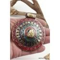 Gros Pendentif bouddhiste OM TIBETAIN ref 3682.5