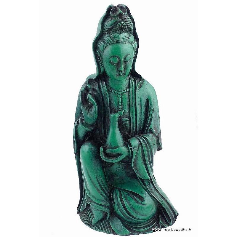 Artisanat tibétain statuette KUBER SFS