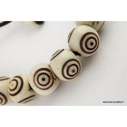 Bracelet mala tibétain Spirales Bijoux tibetains bouddhistes  ref 90A