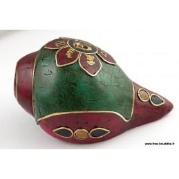 Conque tibétaine style antique ref 4046.6