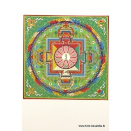 Carte postale bouddhiste CITTAMANI TARA CPB37