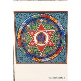 Carte postale bouddhiste MANDALA de VAJRAYOGINI