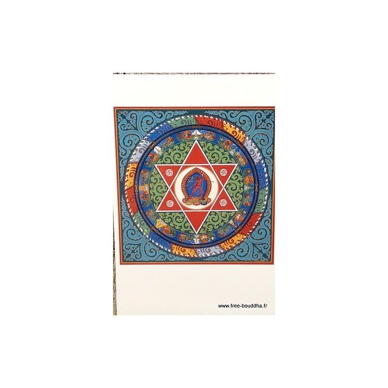 Carte postale bouddhiste MANDALA de VAJRAYOGINI CPB39