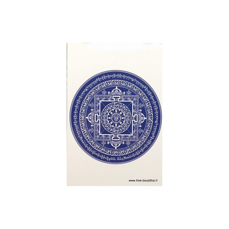 Carte postale Mandala Bouddha de Medecine CPB40