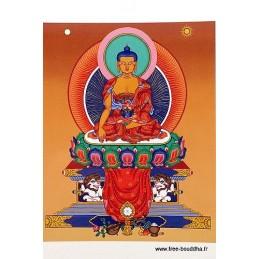 Carte postale bouddhiste SAKYAMOUNI