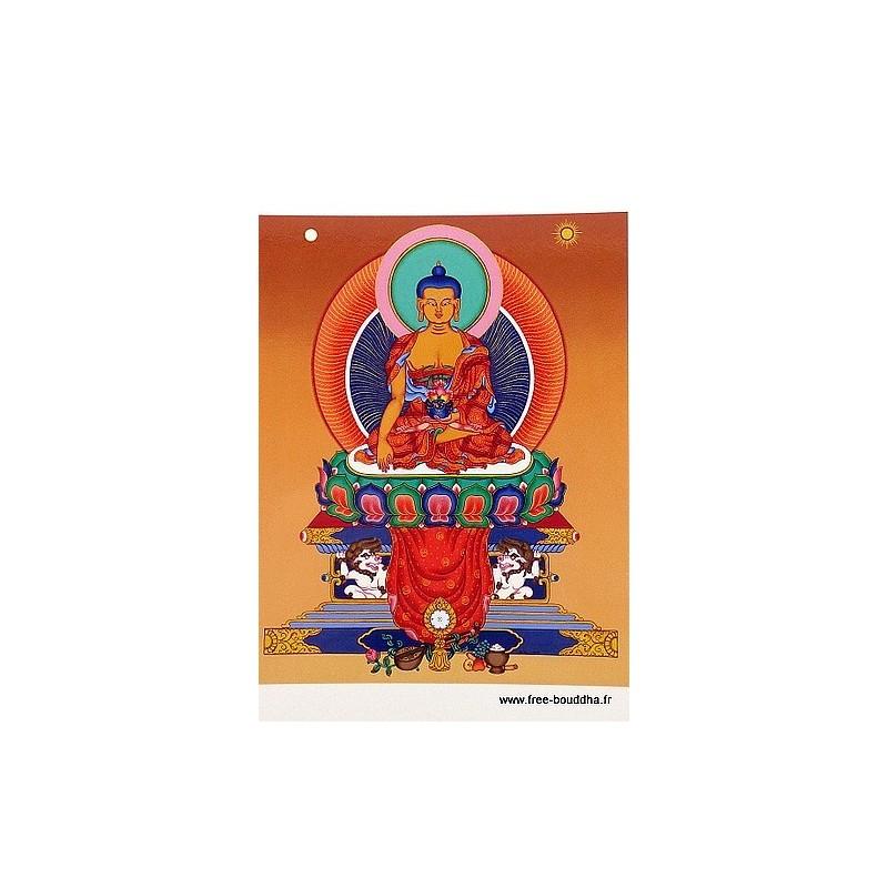 Carte postale bouddhiste SAKYAMOUNI CPB44