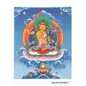 Carte postale bouddhiste MANJUSHRI CPB46