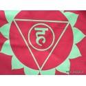 Guirlande drapeaux népalais 7 chakras DRAT7