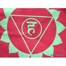 Guirlande drapeaux népalais 7 chakras Drapeaux tibétains DRAT7