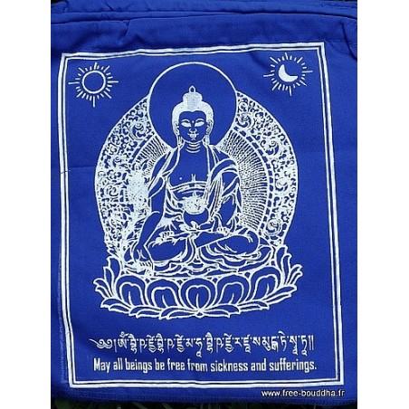 Drapeaux tibétains voeux de Refuge