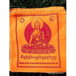 Drapeaux tibétains Bouddha Sakyamouni DRAT4