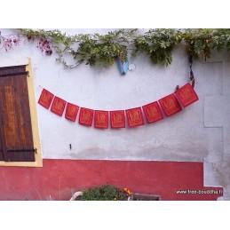 Drapeaux tibétains Guru Rinpoche Drapeaux tibétains DRAT2