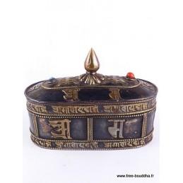 Boîte à bijoux tibétaine BAT3