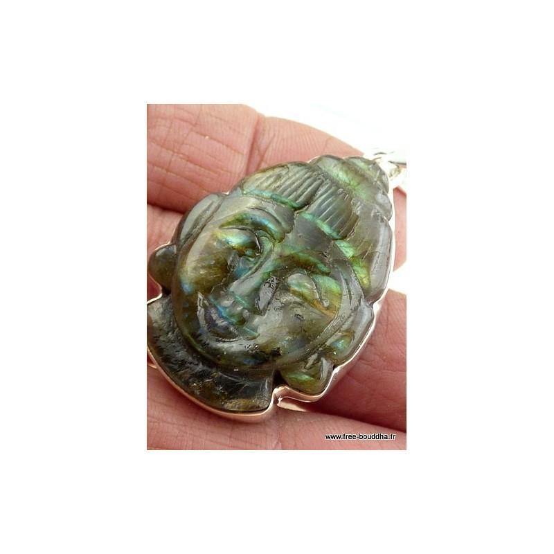 Pendentif Bouddha Labradorite JA3.7.8