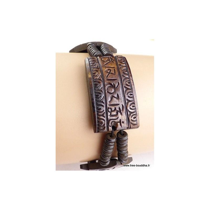 Bracelet tibétain Mantra Chenrezi OY2