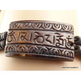 Bracelet tibétain Mantra Chenrezi Bijoux tibetains bouddhistes  OY2