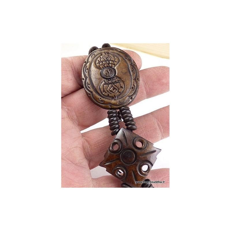 Bracelet tibétain Dorje vajra OY9