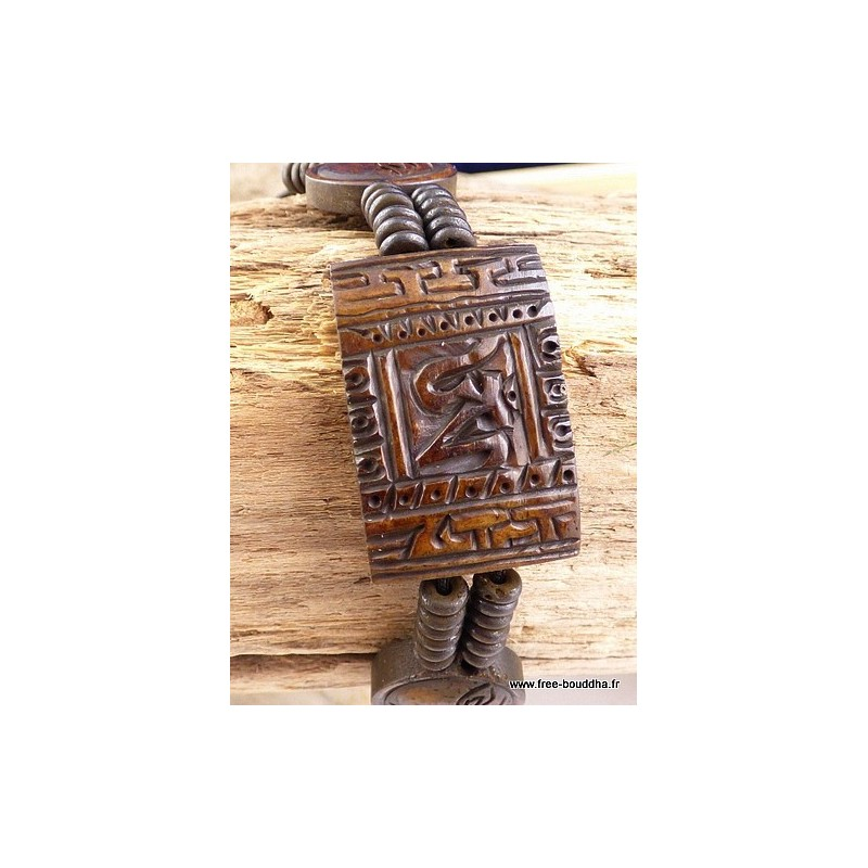 Bracelet tibétain OM Bijoux tibetains bouddhistes  OY1