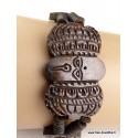 Bracelet tibétain yeux-de-bouddha