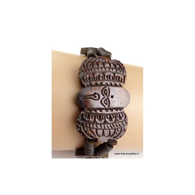 Bracelet tibétain Yeux de Bouddha Bijoux tibetains bouddhistes  OY8