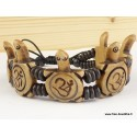 Bracelet tibétain Tortues OY7