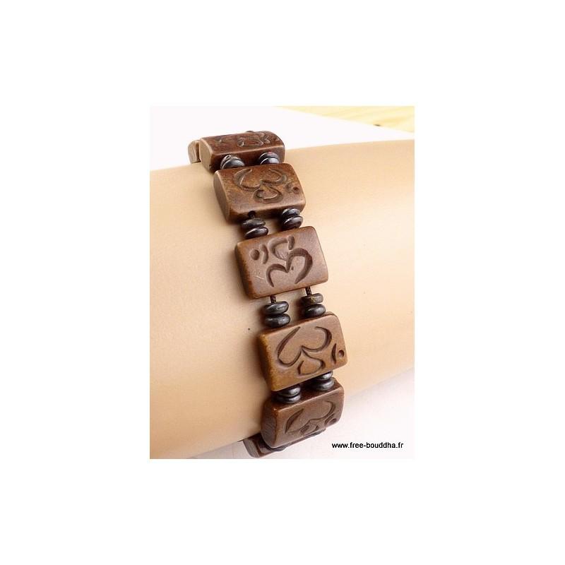 Bracelet tibétain OM hindouiste OY5