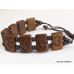 Bracelet tibétain OM hindouiste Bijoux tibetains bouddhistes  OY5