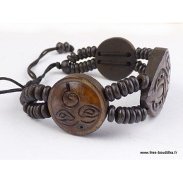 Bracelet tibétain Dorje vajra Bijoux tibetains bouddhistes  OY6