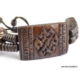 Bracelet tibétain Noeud infini