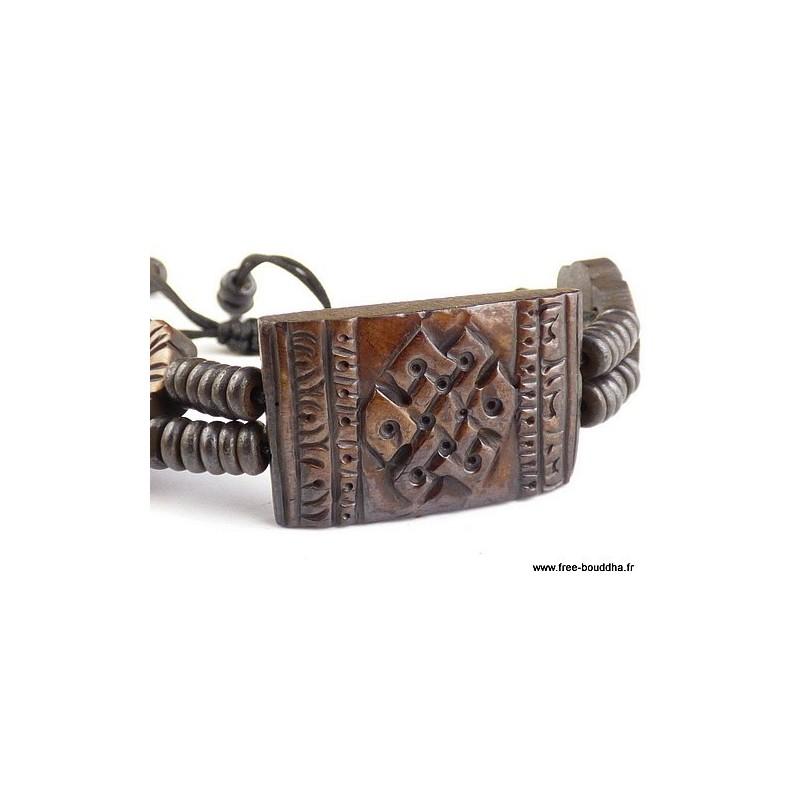 Bracelet tibétain Noeud infini OY3