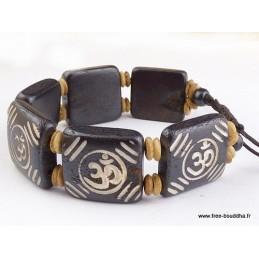 Bracelet tibétain Om Bijoux tibetains bouddhistes  OY10