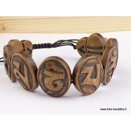 Bracelet Om mani pedme hum Bijoux tibetains bouddhistes  OY12