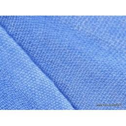 Châle laine et cachemire bleu Pashminas Etoles Echarpes PLC4