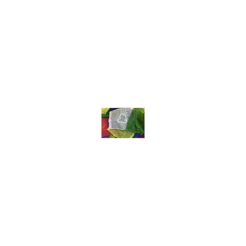 Mini drapeaux de prières tibétains 7 X 7,5 cm TPDT