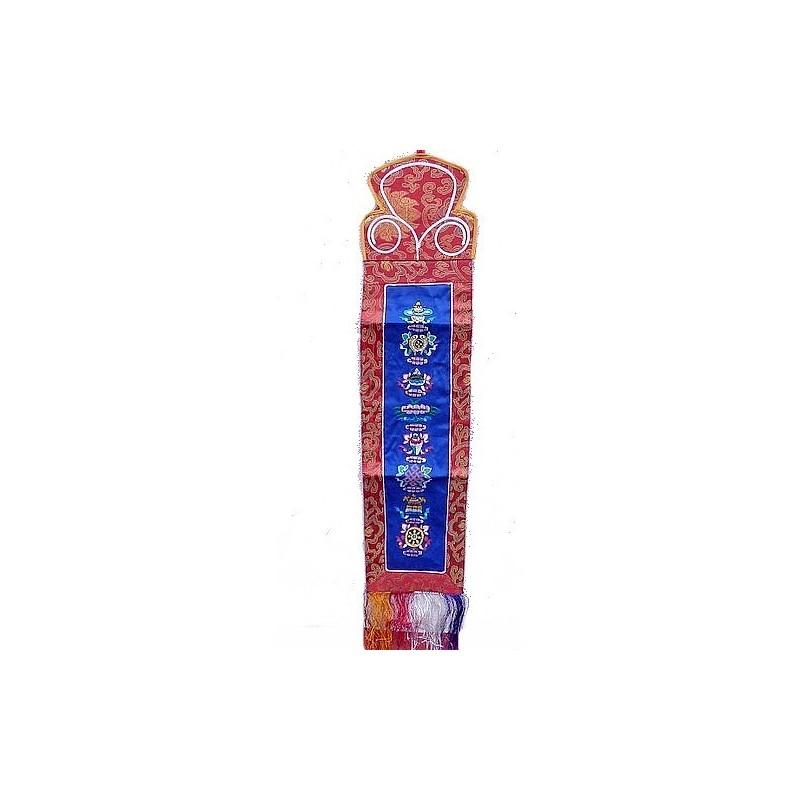 tenture tibetaine signes auspicieux
