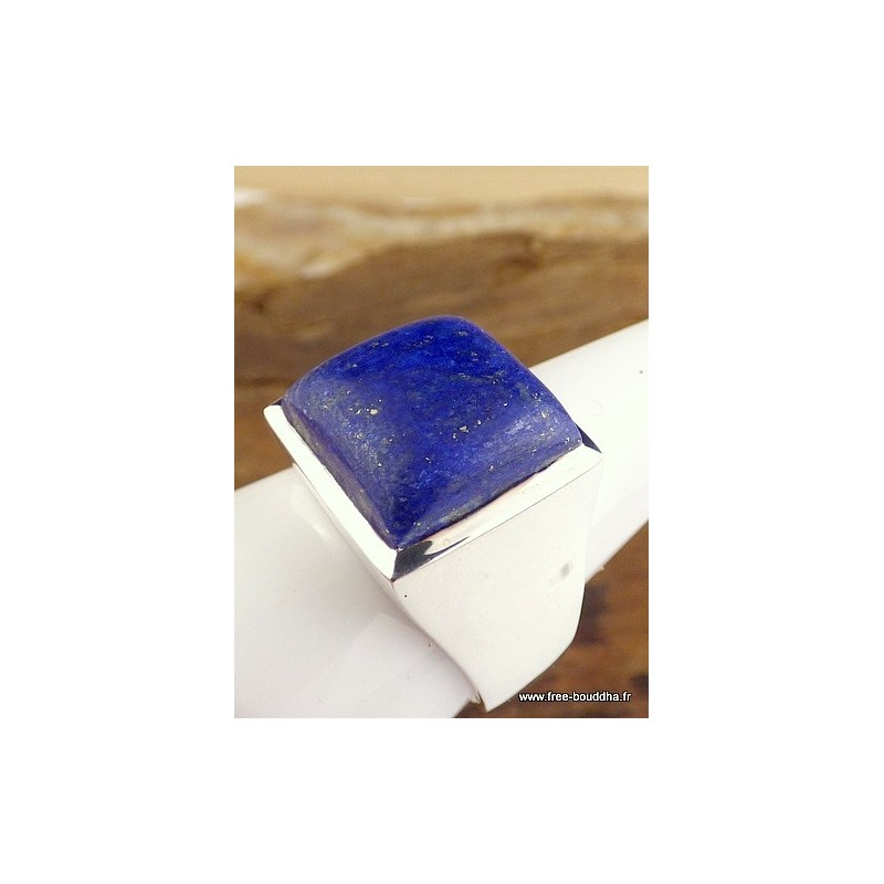 Chevalière Homme Lapis Lazuli