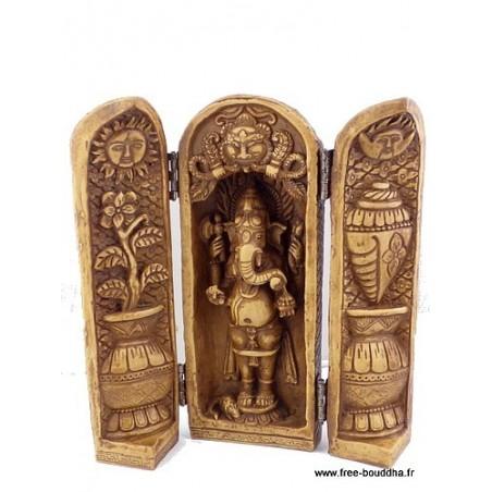Autel temple portatif GANESH