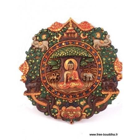 Décoration Bouddha sur Lotus