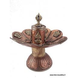 Brûleur d'encens tibétain Lotus